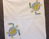 Hawksbill Turtle Tea Towel