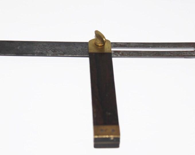 Vintage Carpenters Adjustable Square Brass Fittings