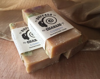 Confetti - Bison Tallow Soap