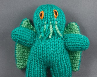Cthulhu Toy / Monster / Lovecraft / Plush / Knitted Toy