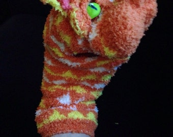 Orange Cat Puppet