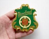 Vintage Pilsner Urquell metal badge - Vintage Beer - Wall Decor - Pilsner Urquell Beer
