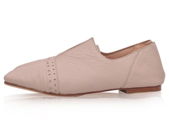 JEWEL. Leather flats  / women shoes / leather shoes / flat leather shoes / ballet flats. Sizes 35-43. Available in different leather colors