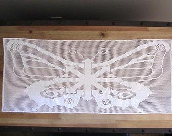 Chaos Butterfly Filet Crochet Pattern