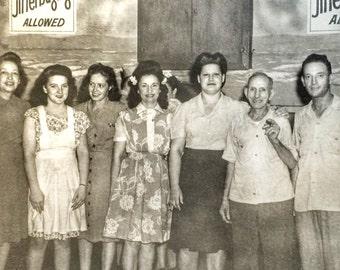 No Jitterbugging Allowed Vintage Photo