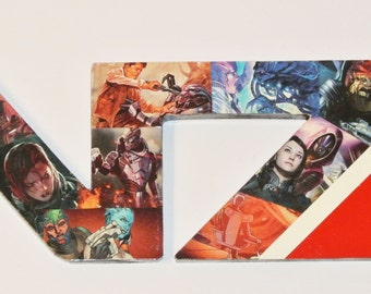 Mass Effect N7 Logo Wall Plaque ( made to order )