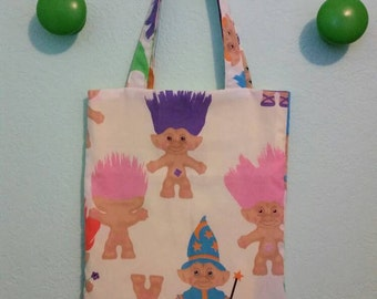 Troll Doll Tote Bag