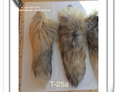 T-25 Genuine Golden Island Fox TAIL Craft Supply Pelt Remnant Premium Quality