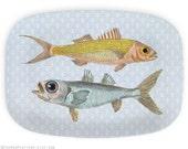 Fish, 1800s fishes melamine platter