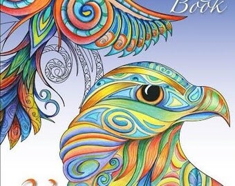Reina Cottier Art 23 Page Colouring Book