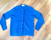 Jantzen Mohair Cardigan Sweater Medium 36