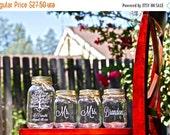 Unity Jars, 4 Custom Unity Mason Jars, Sand Ceremony, Mason Jar Wedding, Tree of Life, Love