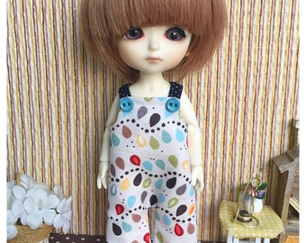 """Lati Yellow Outfit : """"Blossoms in Wonderland Dungarees"""" (Dungarees)"""