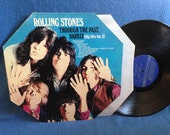 "RARE, Vintage, The Rolling Stones - ""Through The Past, Darkly, Big Hits Vol.2"", Vinyl LP Record Album, Original First Press, Hexagon Best Of"