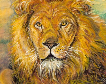 Aslan-Lion of the Tribe of Judah-Chronicles of Narnia by C.S. Lewis