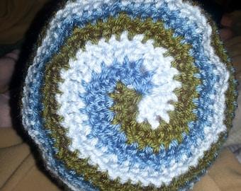 Helix Adult Hat, swirl pattern