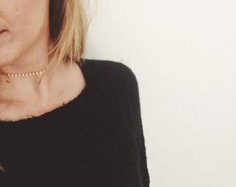 Kelly Choker - Gold Coin Choker