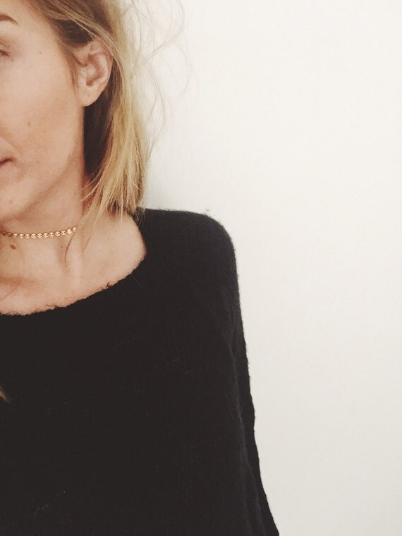 Kelly Choker - Gold Coin Choker
