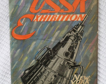 USSR Exhibition Catalog, New York City, 1959, Includes a copy of Premier Khruschchev's speech