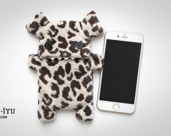Fluffy Cellphone Case - Velvet Leopard LIMITED EDITION - Various Sizes
