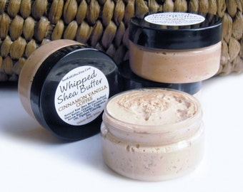 Cinnamon Coffee - Whipped Shea Butter - Warm Scent - Natural Winter Body Butter