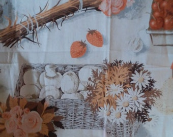 Vintage Summer Fall Tablecloth