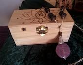 Talisman and Trinket Box Lotus Bloom