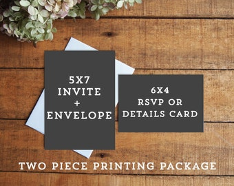 Two Piece Printing Package
