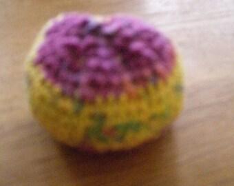 Lavender balls, crochet