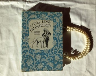 """Upcycled  Book Purse """"Little Lord Fauntleroy"""""""
