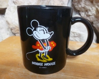 Disney Minnie Mouse mug black