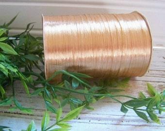 Gold Raffia Roll, Raffia, Package Raffia, Decorative Raffia, Package Supplies, Gift Wrapping Raffia, Gifts, Shabby Style, Elegant Raffia