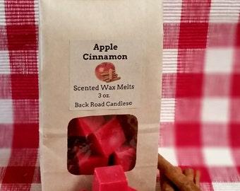 Apple Cinnamon Scented Wax Melts - Wax Tart Cubes