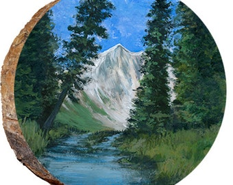 Stream with Mountains- DCW059