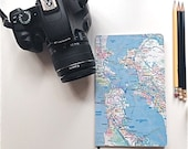 San Francisco City Lined Notebook, Travel Notebook Bay Area,