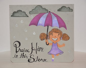 Weather This Storm Greeting Card