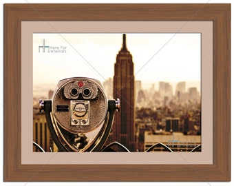 Empire State Building New York City Cityscape Photographic Print - Various Sizes - Gift Idea