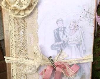 Wedding guest book - Wedding Day
