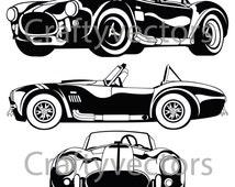Shelby AC Cobra 67 Vector File