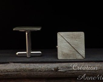 Cuff buttons:. 925 Silver