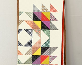 PATTERN: CALICO SWING by Denyse Schmidt - DSQ019 - Baby Quilt - Twin - Queen - King - Modern - Fat Quarter Friendly
