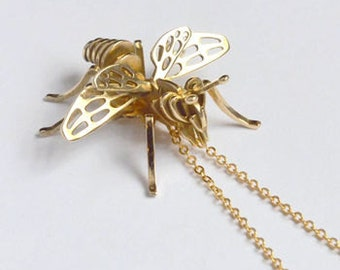 3D Printed Bumble Bee Pendant