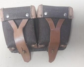 Leather ammo case or money holder