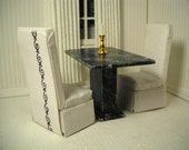 Dining set for the 1:12 scale dollhouse