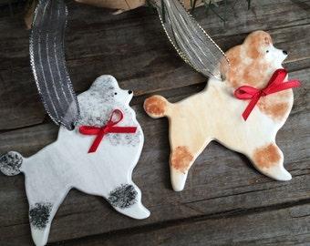 Poodle ornament, Standard Poodle ornament, Toy Poodle dog ornament, Black Poodle Ornament, AKC ornament, Poodle AKC Award Gift Poodle Gift