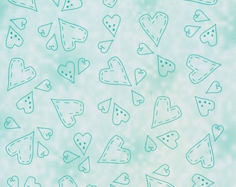 HAPPY HEARTS - LEANNE CREATIFs 6x6 EmBOSSING folder- for Scrapbooks and CARDs - New !!