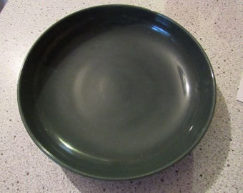 russel wright casual parsley green serving bowl, salad bowl