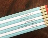 Wedding Pencils Set of 7