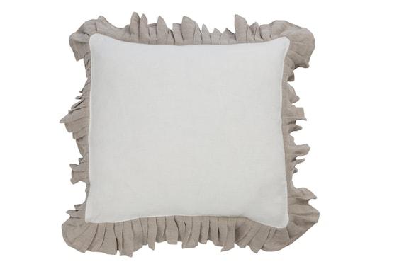 Ruffle cushion ruffled cover decorative pillow ruffle