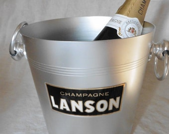 French Vintage, Champagne Cooler, Advertising ,Shabby French , French Chic, Bar , Cafe, Home and Living